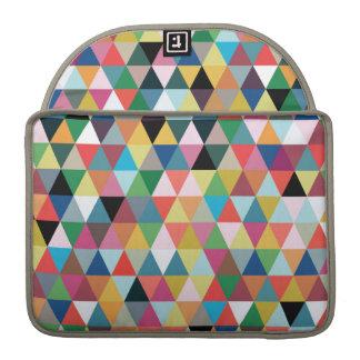 Bunte geometrische gemusterte MacBook Prohülse MacBook Pro Sleeves