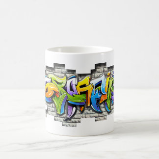 bunte Graffitikunst Tasse