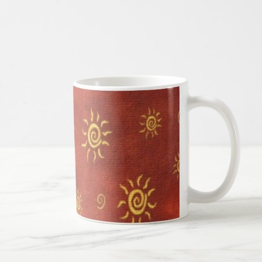 bunte kaffee tasse des s dwestlichen musterspa es tasse. Black Bedroom Furniture Sets. Home Design Ideas