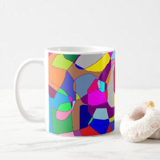 Bunte Kaffee-Tasse Tasse