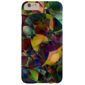 Bunte, kaleidoskopische abstrakte Kunst Barely There iPhone 6 Plus Hülle