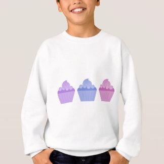 Bunte kleine Kuchen Sweatshirt