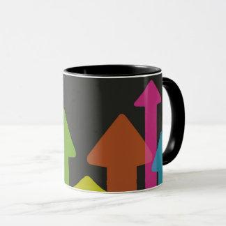 Bunte Pfeil-Tasse Tasse