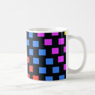 Bunte Quadrate Tasse