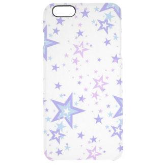 bunte Sterne vextor Kunst Durchsichtige iPhone 6 Plus Hülle