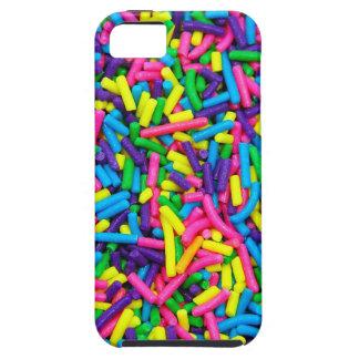 Bunte Süßigkeit besprüht Druck iPhone 5 Hüllen