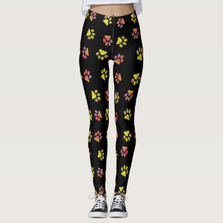 Bunte Tatzen Leggings