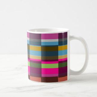 Bunte Würfel Tasse