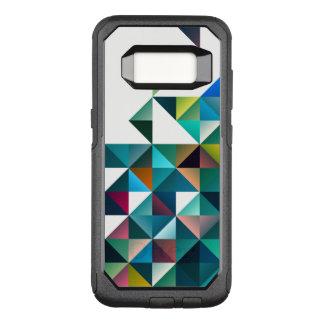 Bunter abstrakter geometrischer Dreieck-Entwurf OtterBox Commuter Samsung Galaxy S8 Hülle