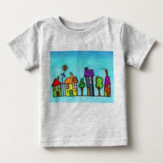 Bunter Ausgangsbaby-Geldstrafe-Jersey-T - Shirt