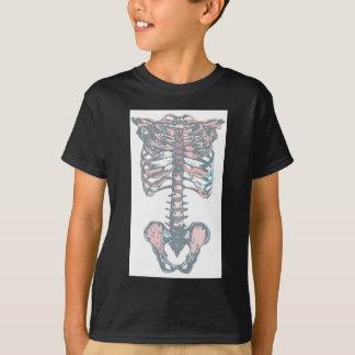 Bunter Brustkorb T-Shirt