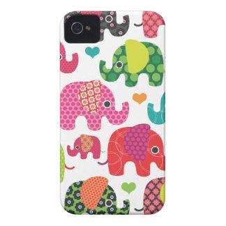 Bunter Elefant scherzt Muster iphone Fall iPhone 4 Hüllen