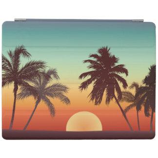 Bunter Florida-Sonnenuntergang iPad Hülle
