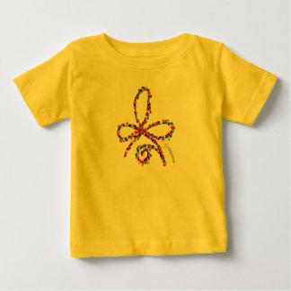 Bunter glücklicher keltischer baby t-shirt