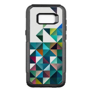 Bunter moderner geometrischer Dreieck-Entwurf OtterBox Commuter Samsung Galaxy S8+ Hülle