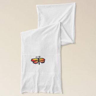 Bunter Schmetterling Schal