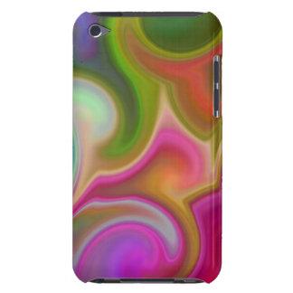 Bunter Strudel abstrakt iPod Case-Mate Hülle
