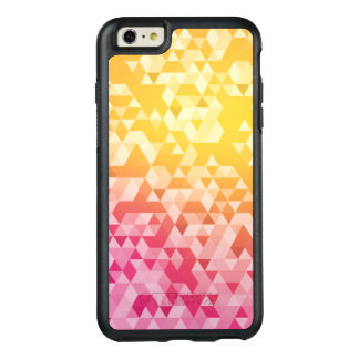 Buntes abstraktes Dreieck-Muster OtterBox iPhone 6/6s Plus Hülle