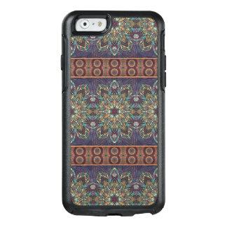 Buntes abstraktes ethnisches Blumenmandalamuster OtterBox iPhone 6/6s Hülle