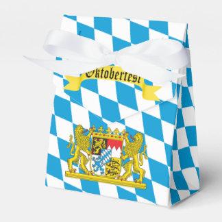 Buntes bayerisches Flagge Oktoberfest Party Geschenkkartons