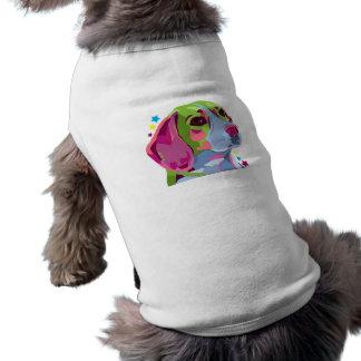 Buntes Beagle-Hündchen-T-Shirt Top