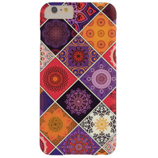 Buntes böhmisches Mandala-Patchwork Barely There iPhone 6 Plus Hülle
