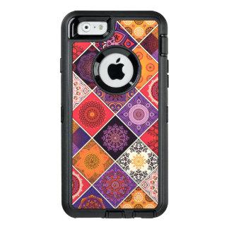Buntes böhmisches Mandala-Patchwork OtterBox iPhone 6/6s Hülle