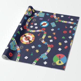 Buntes Brettspiel-Muster-Packpapier Geschenkpapier
