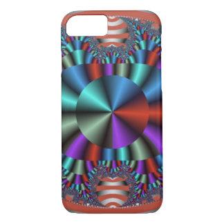 Buntes Chrom-Auge abstrakt iPhone 7 Hülle