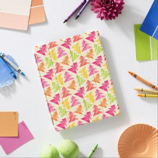 Buntes flüchtiges Weihnachtsbaum-Muster iPad Smart Cover