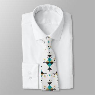 Buntes geometrisches südwestliches Stammes- Muster Individuelle Krawatte