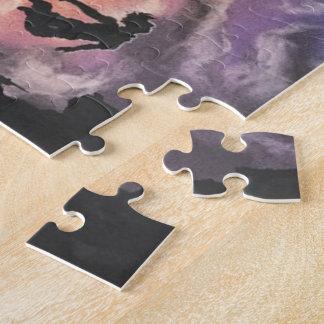 buntes Himmeltauchen Puzzle