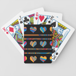 Buntes Hirschmuster Pokerkarten