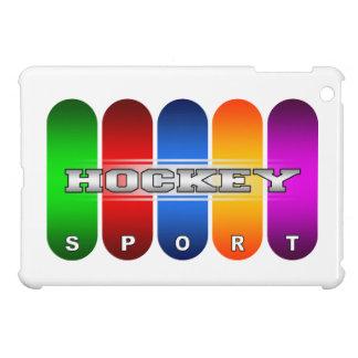 Buntes Hockey iPad Minifall iPad Mini Hülle