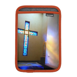 Buntes Kreuz iPad Mini Sleeve