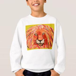Buntes Löwe-Sweatshirt Sweatshirt