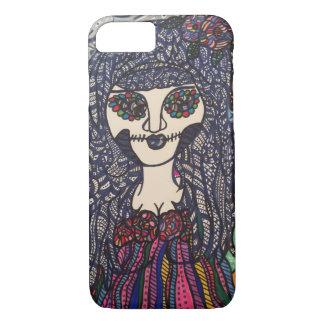 Buntes Mädchen Zendoodle Zombies iPhone 8/7 Hülle
