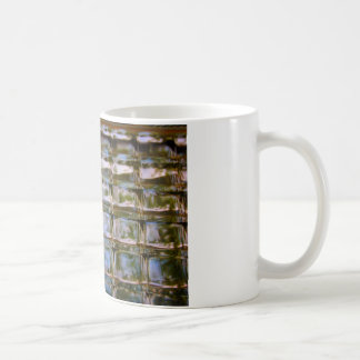 Buntglas-Fenster-Blöcke Kaffeetasse