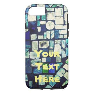 Buntglas-Telefon-Kasten mit kundengerechtem Text iPhone 8/7 Hülle