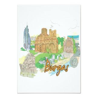 Burgas 12,7 X 17,8 Cm Einladungskarte