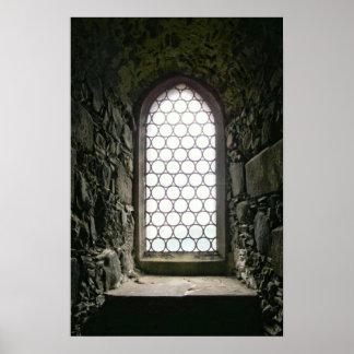 Burgfenster Poster