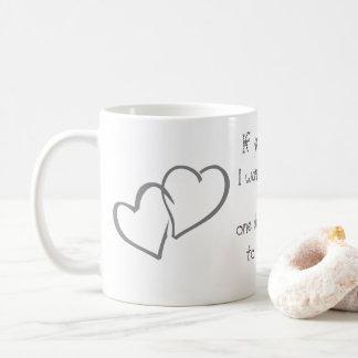 Büro-Zuhausehochzeit personifizieren der Tasse
