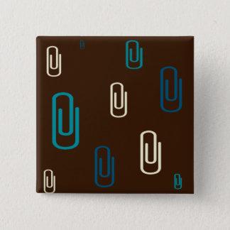 Büroklammern Quadratischer Button 5,1 Cm