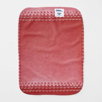 Burp-Stoff-Glasur-rote Juwel-Schein-Energie Healin Baby Spuchtücher