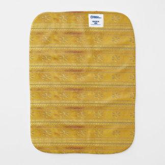 Burp-Stoff-Goldgoldene Juwel-Schein-Energie Healin Spucktücher