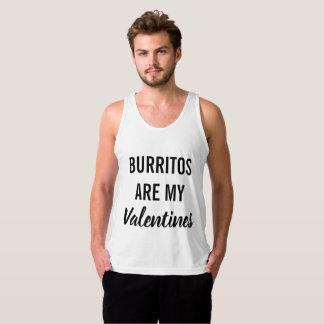 Burritos sind meine Valentinsgrüße Tank Top