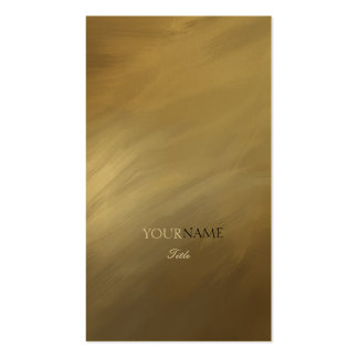 Bürsten-Anschlag-Gold und Monogramm Visitenkarten