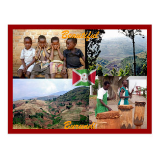 Burundi-Postkarte Postkarte