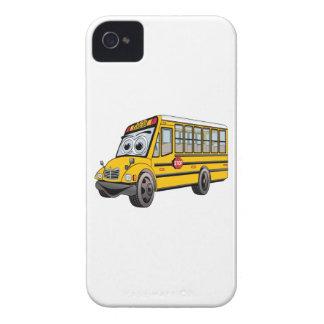 Bus-Cartoon der Schule2017 iPhone 4 Cover