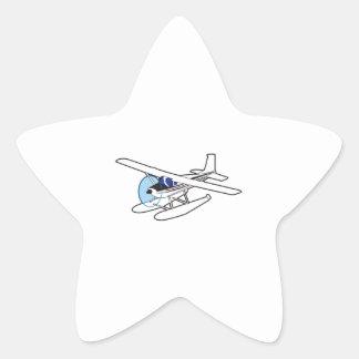 BUSH-FLUGZEUG Stern-Aufkleber